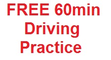 Free 60min Driving Practice