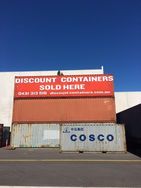 shipping container sales Victoria